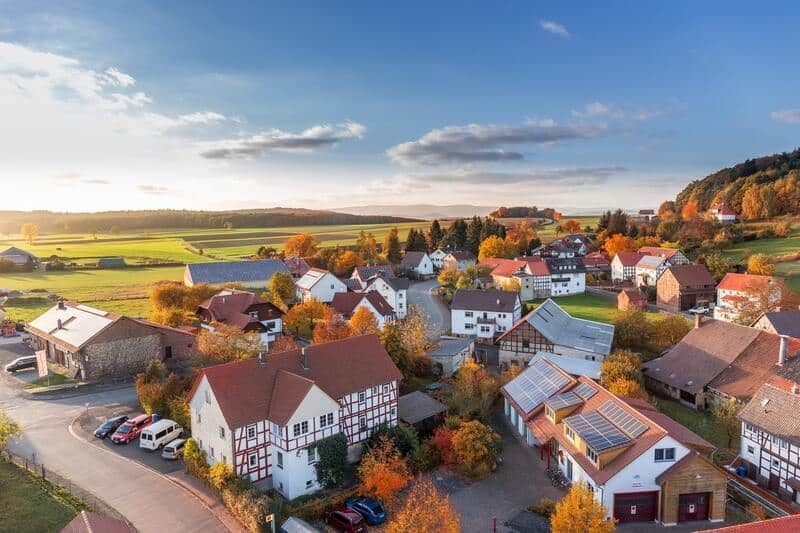 Grundstückspreise auf dem Land